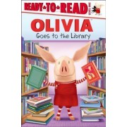 Olivia Goes to the Library by Lauren Forte