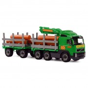 Polesie Volvo Timber Transport Truck with Trailer 78x19x25 cm 1450652