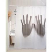Tenda da doccia SCARY SHOWER CURTAIN con mani giganti e inquietanti...