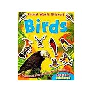 Brown Watson Animal World Sticker Activity Book - Birds