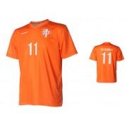 Nederlands Elftal Shirt Robben Thuis 2014-2016 Super Kwaliteit