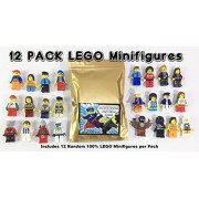 12 Random Lego Mini Figures ~ Clean Legos ~ Random Assortment Of Mini Figs W/All Body Parts; Hat, Hair Or Helmet, And Accessory ~Pre Owned And High Quality