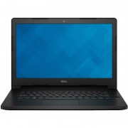 Laptop Dell Latitude 3470 14 inch HD Intel Core i3-6100U 4GB DDR3 500GB HDD Backlit KB Linux Black