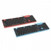 Tastatura Cu Fir Omega OK-08 USB Rosu
