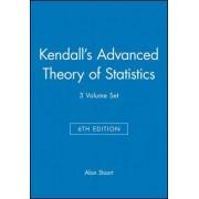 Kendalls Advanced Theory of Statistics by Alan Stuart