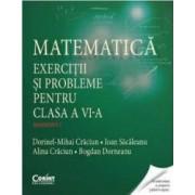 Matematica. Exercitii si probleme pentru cls 6. Semestrul I - Dorinel-Mihai Craciun