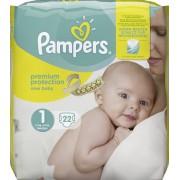 Pampers Premium Protection New Baby 1 für 2-5 kg 22 Stk