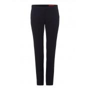 HUGO BOSS Harile wollen pantalon in donkerblauw