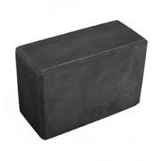 RECYCLED FOAM BLOCK (Black) (4in x 9in x 6in) 10cm x 23cm x 15cm
