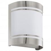EGLO Utomhusvägglampa Cerno 40 W silver 30191
