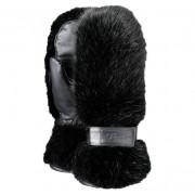Fur Paws (czarne, black) - futrzane rękawiczki