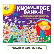 Playking Ratnas Knowledge Bank 2 - 80 Puzzles Sheet - 280 Pieces Puzzle