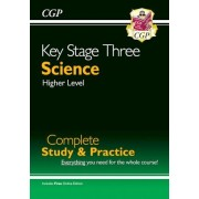 KS3 Science Complete Study & Practice by CGP Books