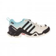 Adidas Terrex Swift R GTX Damen Gr. 7 - weiß blau schwarz / clear brown/co black/mint - Sportliche Hikingschuhe