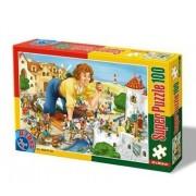 D-Giocattoli Fairytales 3 Super Jigsaw Puzzle (100 Pezzi)