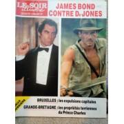 Le Soir Illustré 2980, James Bond, Indiana Jones, Auschwitz, Sandrine Bonnaire, Marolles, Saint Josse, Namur. (N 2980
