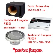 Pachet de bass Rockford Fosgate P212S4