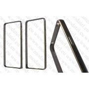 Samsung Galaxy A7 2016 SM-A710F (калъф Bumper) 'Metal style'