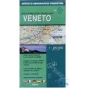 Venetia - Harta Rutiera