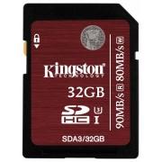 Kingston SDHC 32GB UHS-I SC3 (SDA3/32GB)