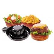Stampo per tortine e sformatini formine per pancetta ciotole stampo per bacon microonde cucina finger food