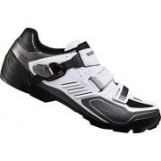 Shimano - Sh-M163, Zapatos de Bicicleta de montaña Hombre, Blanco (White)