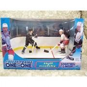 1999 NHL Starting Lineup Freeze Frame One on One - Brett Hull vs Wayne Gretzky by Hasbro
