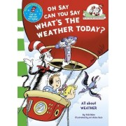 Oh Say Can You Say What's The Weather Today by Dr. Seuss