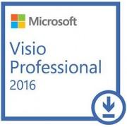 Microsoft Visio Professional 2016, 32/64 bit, Multi Language, Licenta ESD (Electronica)