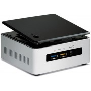 Barebone Intel NUC (Next Unit of Computing) BOXNUC5I7RYH (Procesor Intel® Core™ i7-5557U (4M Cache, up to 3.40 GHz), Broadwell, No RAM, DDR3L-1600, No HDD, suport M.2 SSD, Wireless AC)