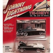 2001 Johnny Lightning 1956 Chevy Bel Air 1:64 scale diecast car #454-03