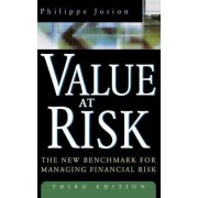 Value at Risk by Jorion Philippe