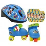Stamp J100015 - Set Mickey Mouse C.H. Pattini + Casco + Ginocchiere + Gomitiere