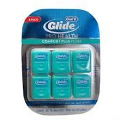 GLIDE PRO-HEALTH COMFORT PLUS FLOSS (Mint) 6 Pack