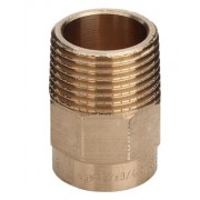 ADAPTOR CUPRU FILET EXT. 22X 1""