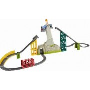 Set Trenulet Fisher-Price Thomas And Friends Podul Miscator