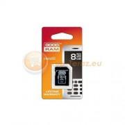 Goodram Karta pamięci Goodram micro SDHC 8 GB + adapter