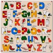 Skillofun Capital Alphabet Tray With Picture