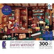 Joan Steiner's Look-Alikes Santa's Workshop 300 Piece Puzzle