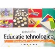 Educatie tehnologica clasa 4 Caiet cu 8 planse - Daniela Codreanu