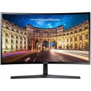 "Monitor VA LED Samsung 23.5"" LC24F396FHUXEN, Full HD (1920 x 1080), HDMI, VGA, 4 ms, Ecran Curbat (Negru)"