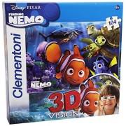 Clementoni 20071 - Puzzle en 3D (104 piezas), diseño de Nemo