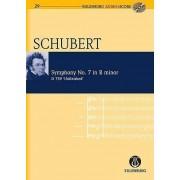 Symphony No. 7 Unfinished: Eulenburg+pocket Score AND Audio CD by Franz Schubert