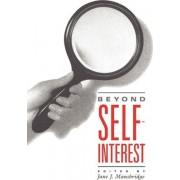 Beyond Self-interest by Jane J. Mansbridge