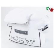 Piumino Daunex Microfibra lavabile 95 gradi Piumone Bianco piazza e mezza