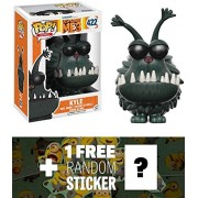 Kyle: Funko POP! Movies x Despicable Me 3 Vinyl Figure + 1 FREE CG Animation Themed Trading Card Bundle (13431)