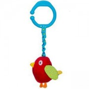 Вибрираща играчка за кошарка и количка Птичка - 1394 Babyono, 9070206