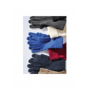 Peter Hahn Handschoenen van 100% kasjmier Van Peter Hahn Cashmere blauw