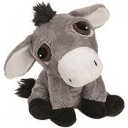Li'l Peepers Farm Animals - 'Lola' small grey Donkey by Suki Gifts