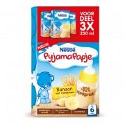 Nestlé Pyjamapapje Banaan Vanaf 6 Maanden Voordeel 3 X 250 Ml